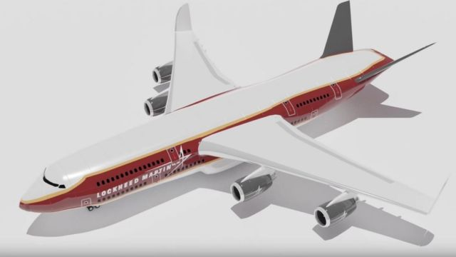 The 900 Passenger Lockheed A380