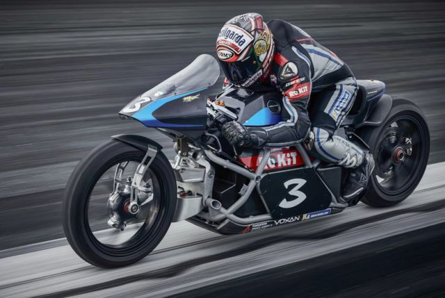 Voxan Wattman is the fastest electric motorcycle in the world (1)