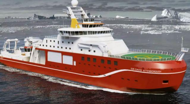 The icebreaker Sir David Attenborough has just begun its journey (3)
