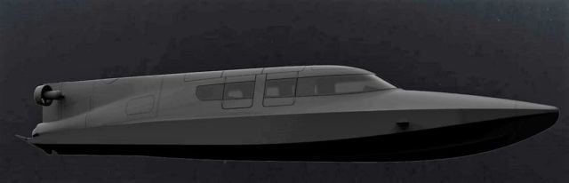 VICTA Stealthy diver delivery boat (2)