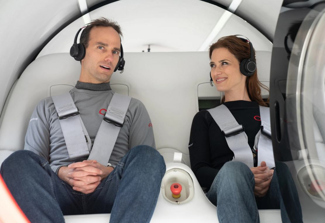 Virgin Hyperloop performed its first Passenger Test