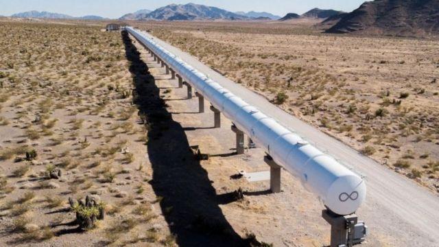 Virgin Hyperloop track