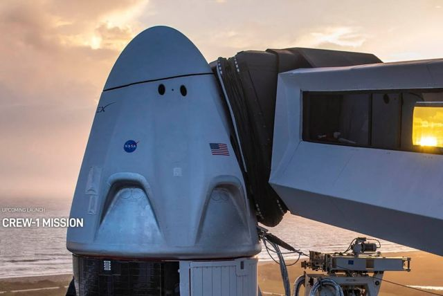 Watch Live the historic SpaceX Crew-1 launch this Saturday
