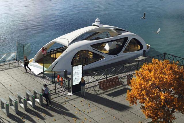 Zeabuz Smart Autonomous Ferry