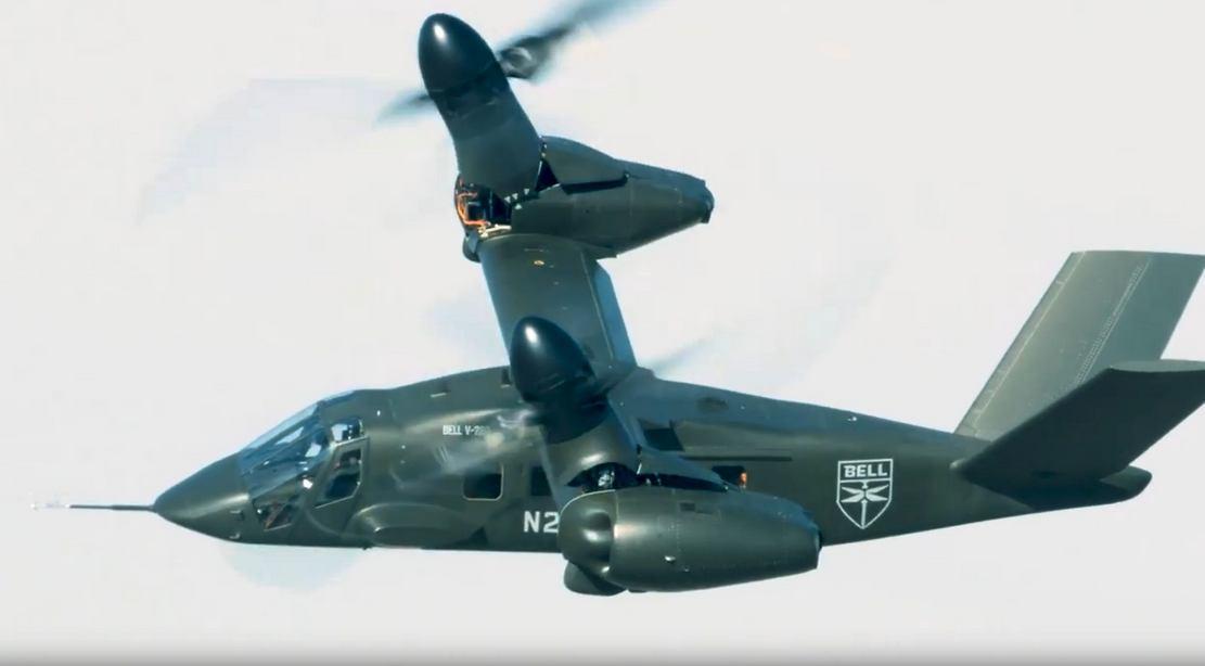 Bell V-280 Valor Next Generation Tilt Rotor aircraft in Flight (3)