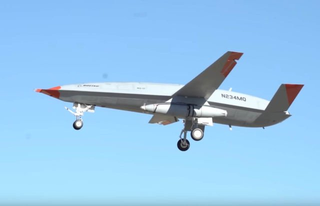 Boeing Tanker drone first Flight with Aerial Refueling Pod