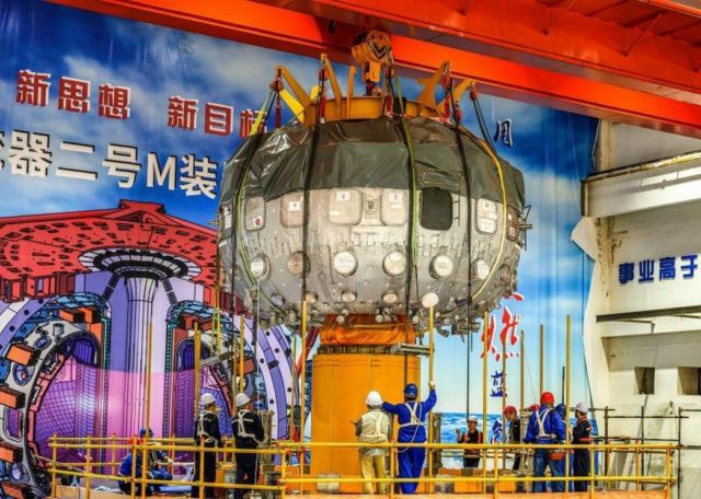 """China launches """"Artificial Sun"""" Nuclear Fusion Reactor"""