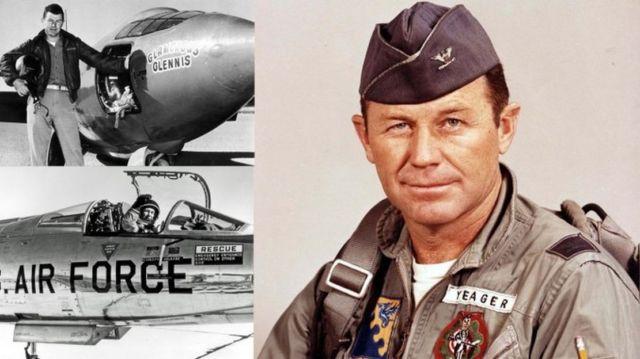 Chuck Yeager Legendary Test Pilot