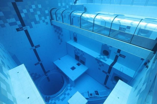 Deepspot deepest Diving Pool in the world