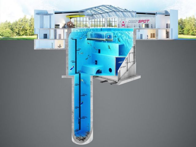 Deepspot deepest Diving Pool in the world (7)