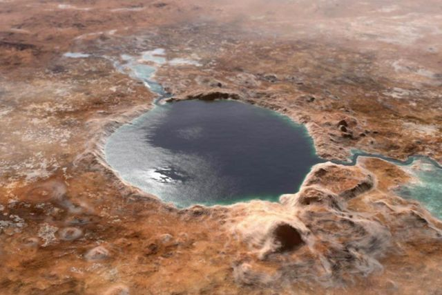 Getting Oxygen from Mars' Salty Water