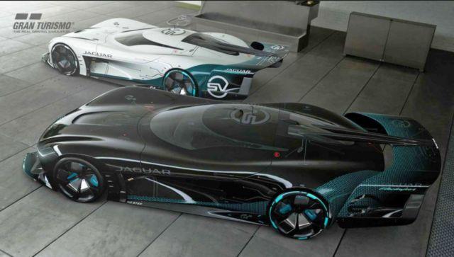 Jaguar Vision Gran Turismo SV Race Car