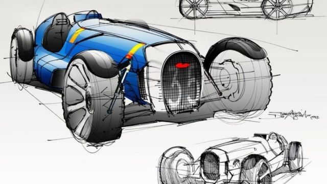 Legendary Bugatti Type 35 reborn (1)