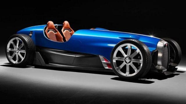 Legendary Bugatti Type 35 reborn