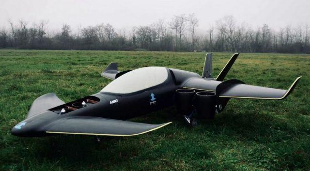 Manta hybrid eVTOL aircraft (7)