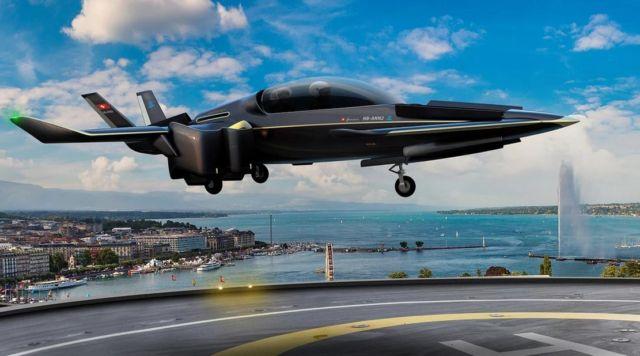 Manta hybrid eVTOL aircraft (6)