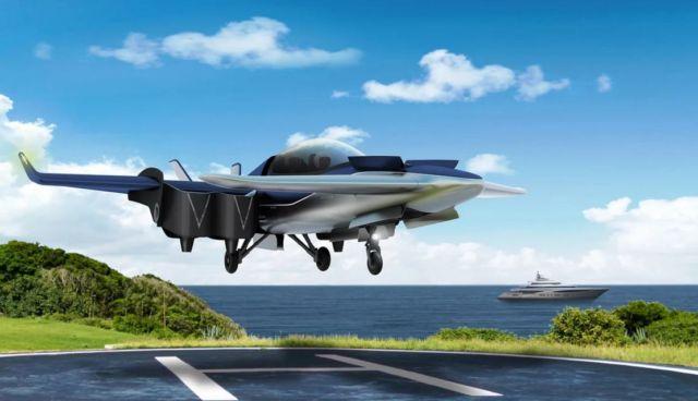 Manta hybrid eVTOL aircraft (4)