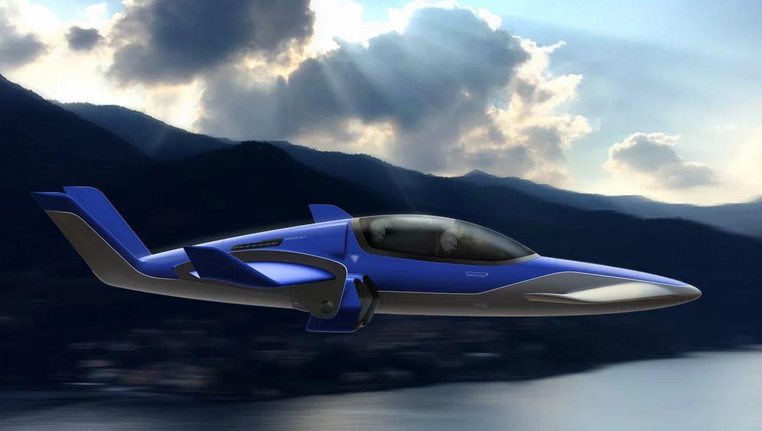 Manta hybrid eVTOL aircraft (3)
