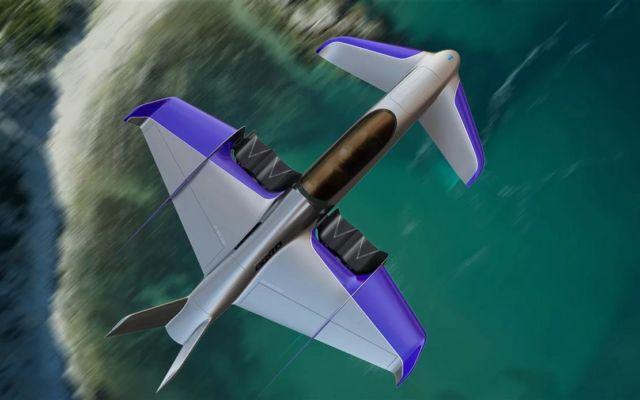 Manta hybrid eVTOL aircraft (2)
