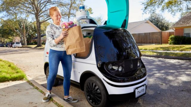 Nuro R2 become the first autonomous-vehicle delivery service in California