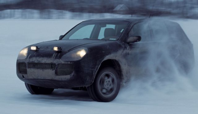 Porsche celebrates a million units of the Cayenne