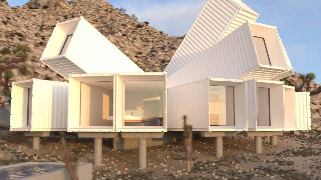 The Joshua Tree Container home