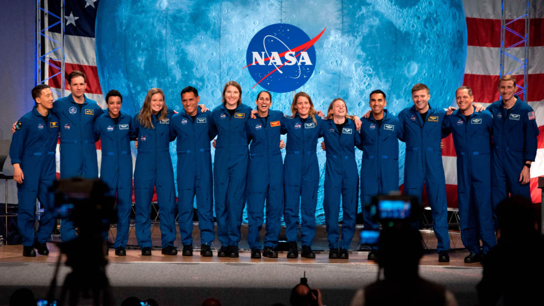 The Team of Astronauts for the Artemis Moon Missions