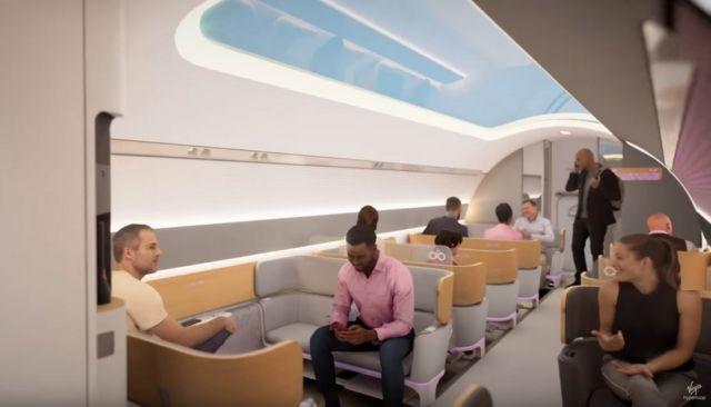 A tour Inside Virgin Hyperloop