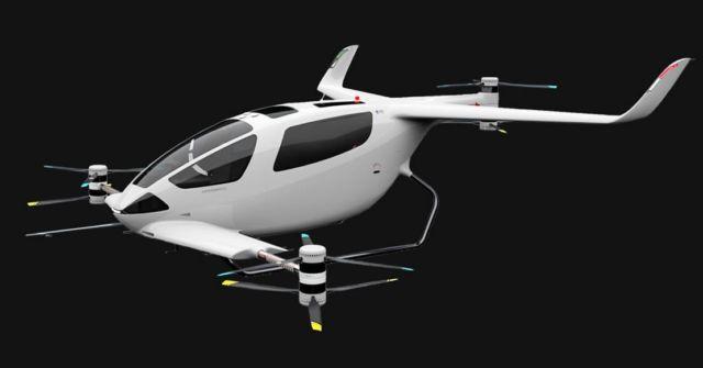 Autonomous Flight eVTOL aircraft concept (3)