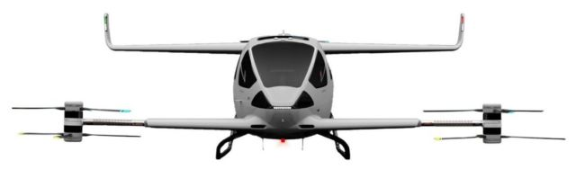 Autonomous Flight eVTOL aircraft concept (2)