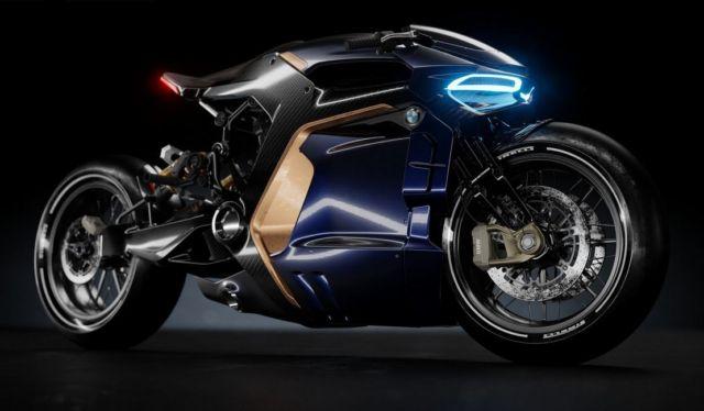 BMW Cafe Racer concept bike