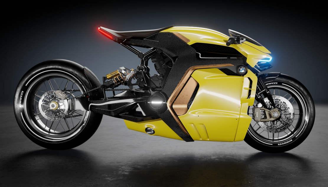 BMW Cafe Racer concept bike (1)