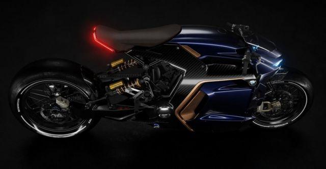 BMW Cafe Racer concept bike (10)
