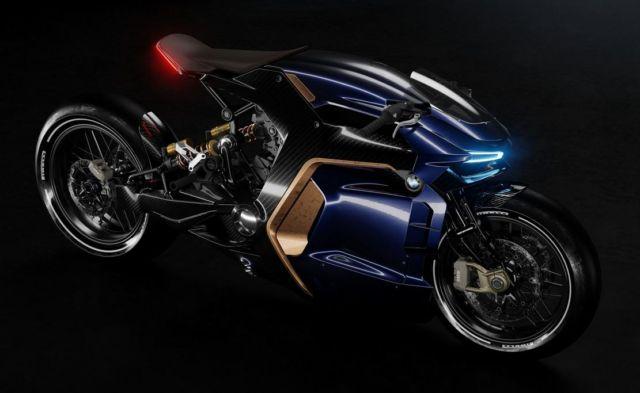 BMW Cafe Racer concept bike (9)