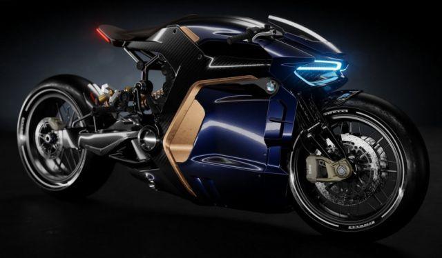 BMW Cafe Racer concept bike (7)