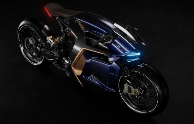 BMW Cafe Racer concept bike (6)