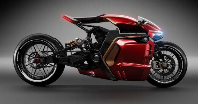 BMW Cafe Racer concept bike (5)