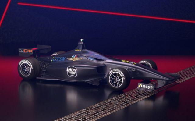 Dallara IL-15 race-car