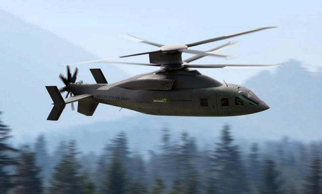 Defiant X advanced utility Helicopter