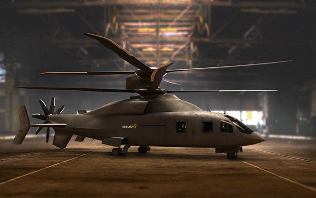 Defiant X advanced utility Helicopter (3)