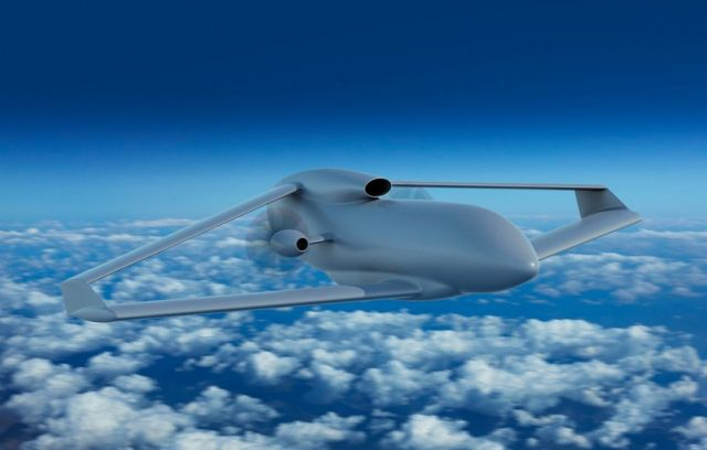 FLY-R rhomboidal wing Drones