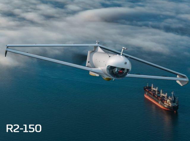 FLY-R rhomboidal wing Drones (4)