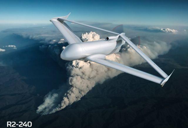 FLY-R rhomboidal wing Drones (3)