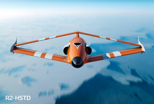 FLY-R rhomboidal wing Drones (2)