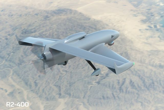 FLY-R rhomboidal wing Drones (1)