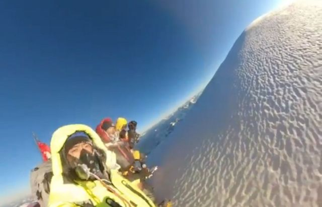 Historic Winter ascent of Mount K2