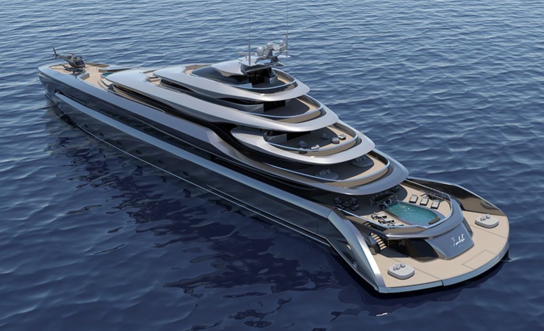 Indah 120 meters superyacht