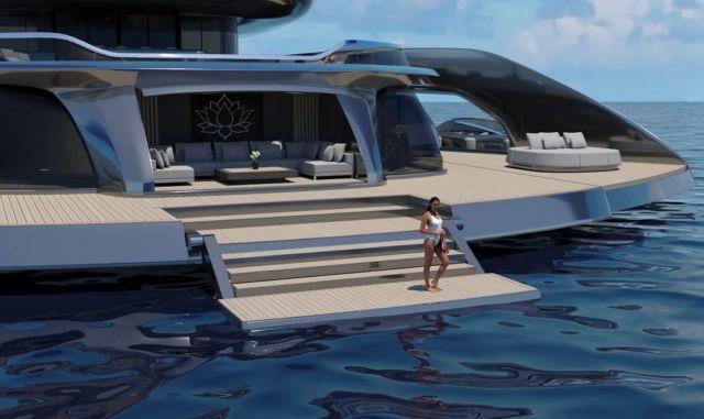 Indah 120 meters superyacht (9)