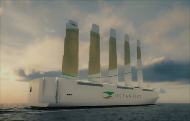 Is Wind Power The Future of Shipping