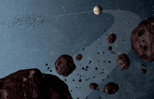 Lucy to Study Trojan Asteroids